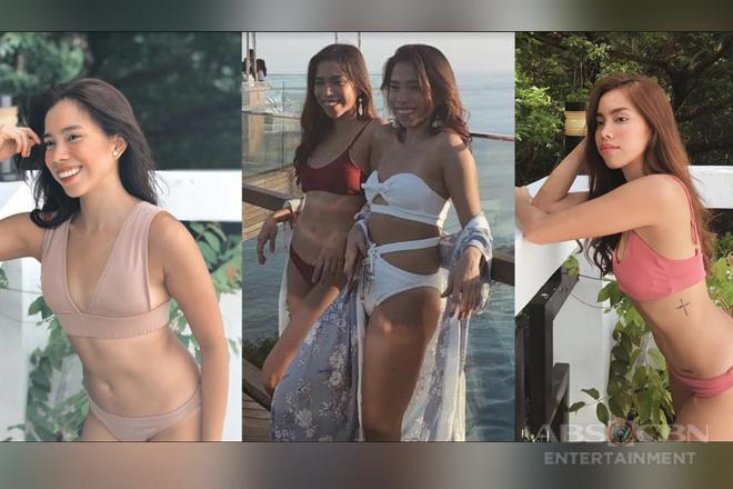 Joj & Jai flaunt their sun-kissed skin in these sexy bikini photos!