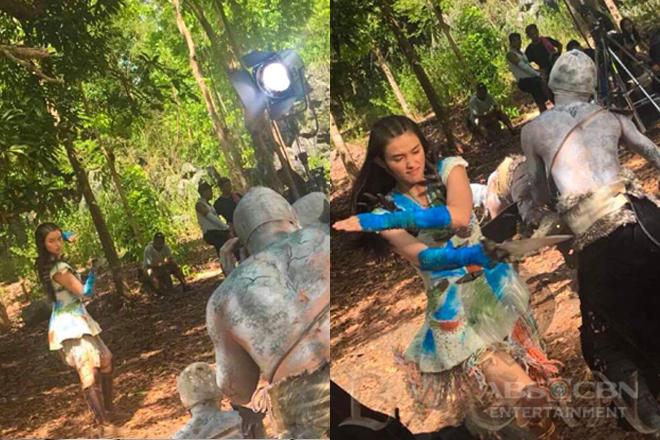 BEHIND-THE-SCENES: Ganda's fight scene inside Dako Paroon