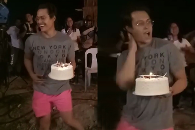 WATCH: This is how Enrique celebrated his birthday on the set of Bagani