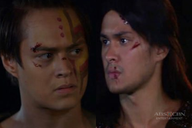 Face off between Matteo and Enrique in