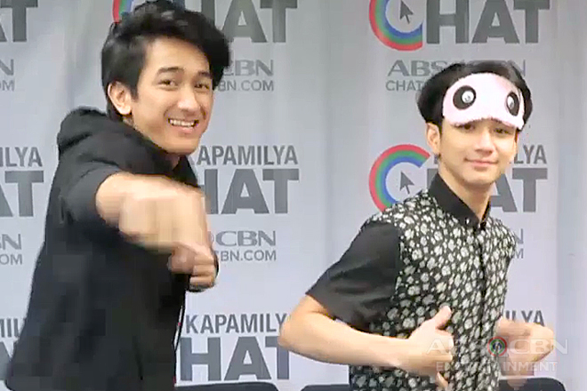 See the Dance Moves of Makisig and Zaijan