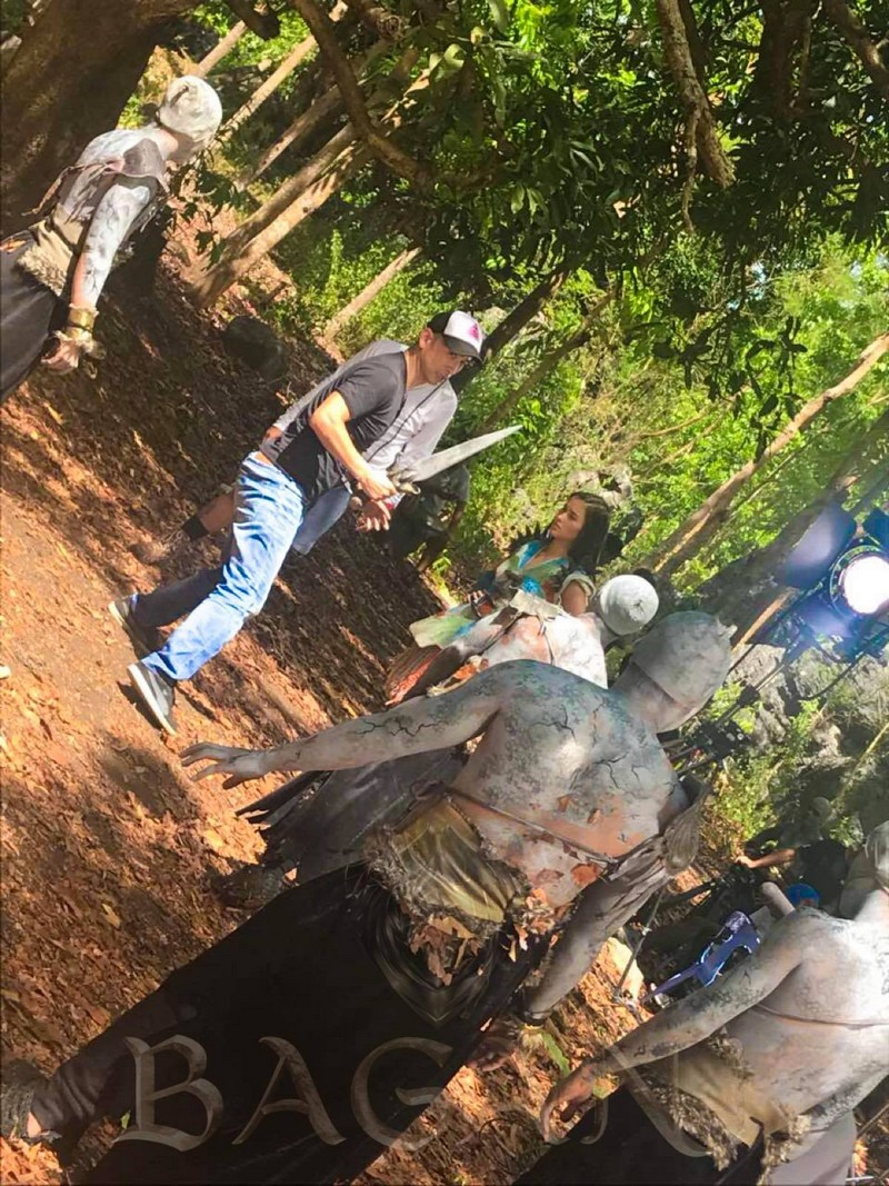 BEHIND-THE-SCENES: Ganda's fight scene inside Dako Paroon