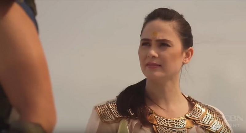 "Kristine Hermosa takes on first kontabida role in ""Bagani"""