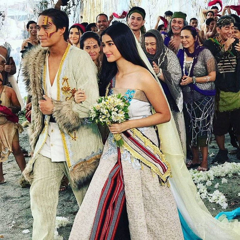 IN PHOTOS: What happened off cam in Bagani's 'Sansinukob wedding'