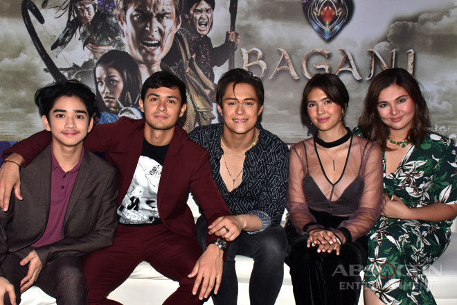 Lakas, Ganda, Lakam, Mayari, Liksi and Babaylan Gloria at The Frontrow Experience: An ABS-CBN Trade Event