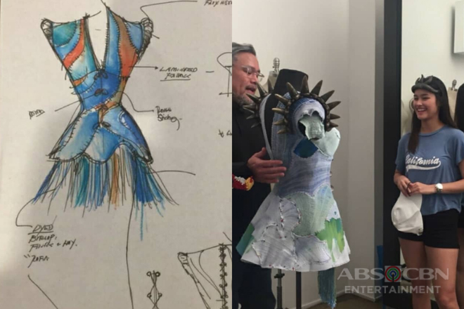 Ever wonder how Bagani costumes were made? These photos will show you!