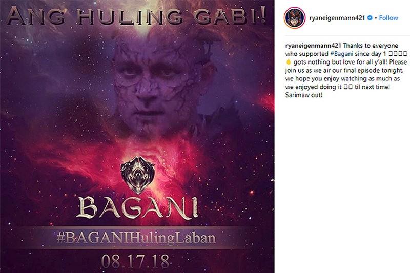 Bagani stars signing off