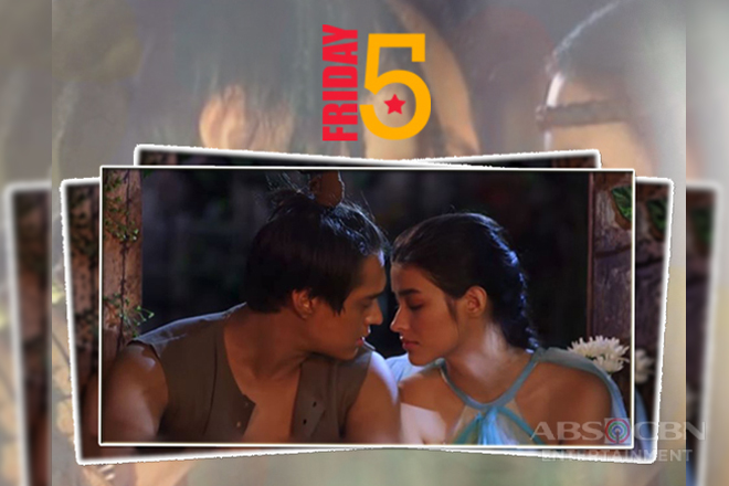 Friday 5: 5 Almost kiss of Lakas and Ganda in Bagani